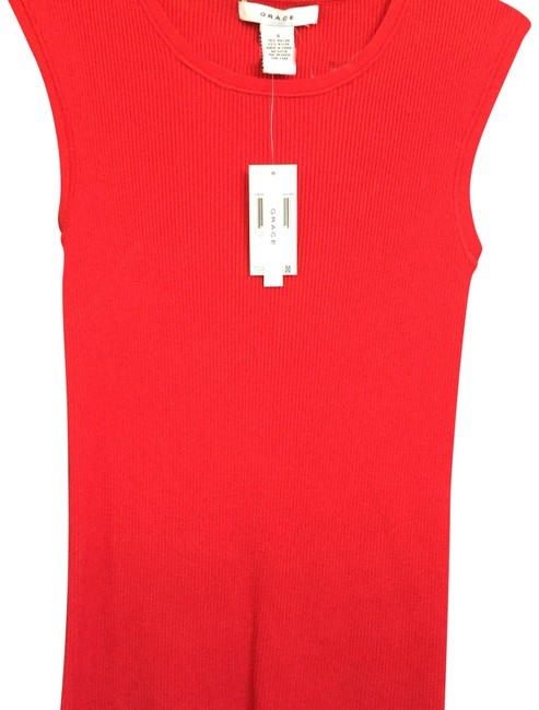 Item - Really Red Tank Top/Cami Size 6 (S)
