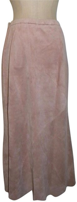 Item - Pink Dusty Rose Suede A-line Skirt Size 8 (M, 29, 30)