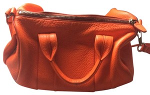 Alexander Wang Satchel in neon orange