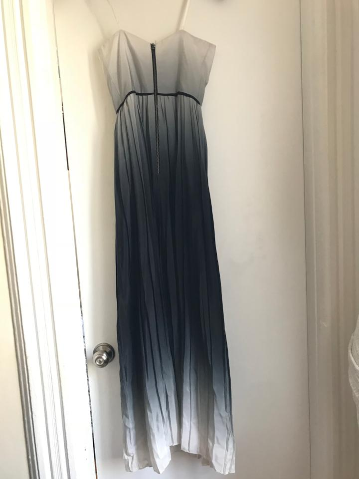 39133ad2a04 MILLY Ombre Monica Strapless Gown Long Formal Dress Size 0 (XS) - Tradesy