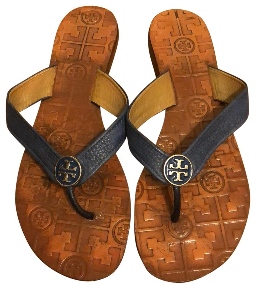 ad69a42eb3c8eb Tory Burch Nude Thong Leather Sandals Size US 6 Regular (M