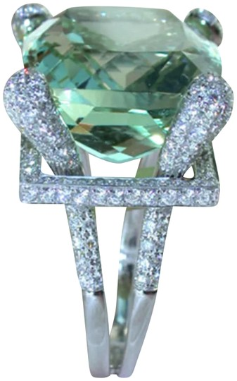 Preload https://item1.tradesy.com/images/green-and-silver-new-peridot-white-topaz-925-ring-23241740-0-1.jpg?width=440&height=440
