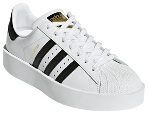 adidas Cloud White / Core Black Platforms