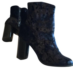 Nasty Gal navy blue Boots