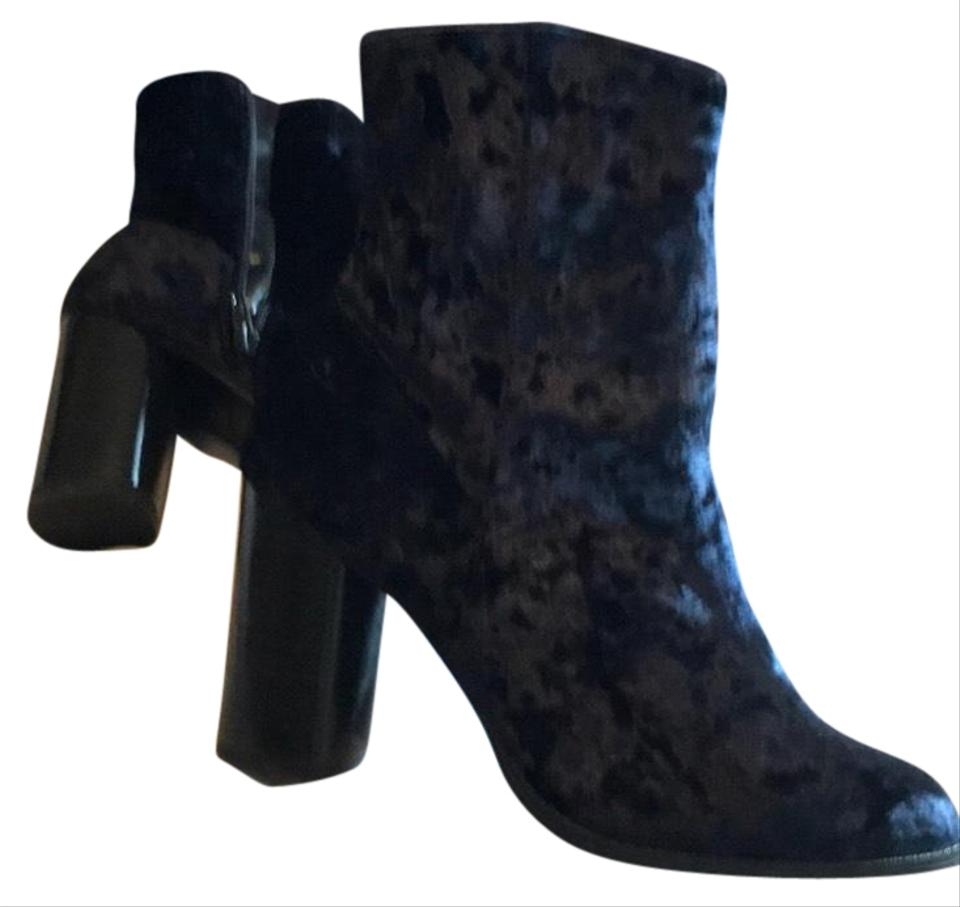 64a1fdc9060 Nasty Gal Navy Blue Unknown Boots Booties. Size  US 9 Regular (M ...