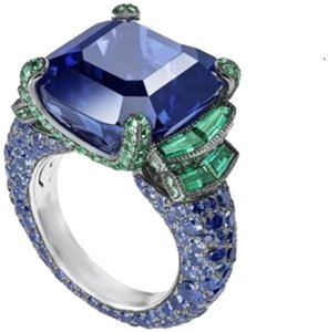 Other New Blue and Green Sapphire 925 Ring