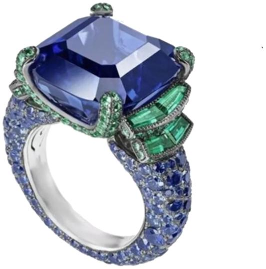Preload https://item3.tradesy.com/images/blue-and-green-new-sapphire-925-ring-23241812-0-1.jpg?width=440&height=440