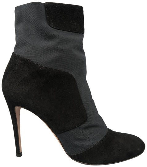 Preload https://item3.tradesy.com/images/gianvito-rossi-black-105-suede-nylon-pull-on-stretch-ankle-bootsbooties-size-us-10-regular-m-b-23241822-0-1.jpg?width=440&height=440