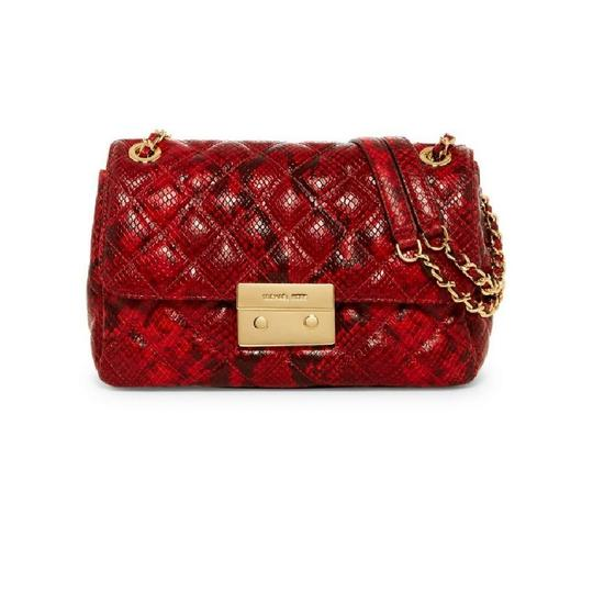 Preload https://item3.tradesy.com/images/michael-kors-hamilton-whipped-eastwest-red-leather-satchel-23241992-0-0.jpg?width=440&height=440