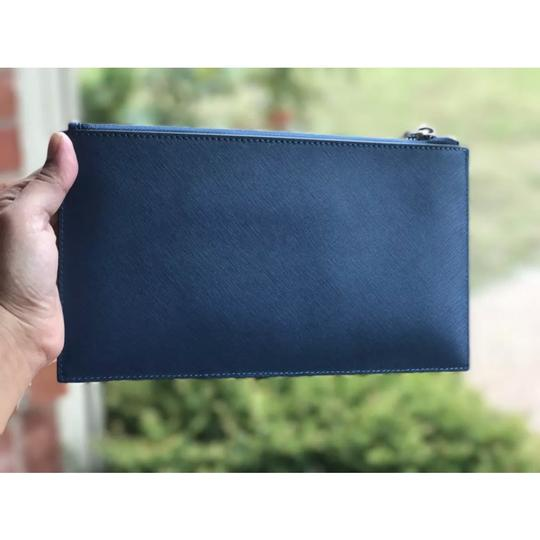 Michael Kors Wristlet in Steel blue