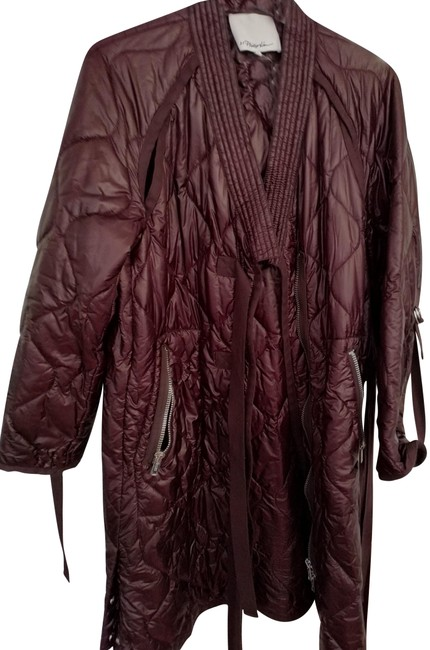 Preload https://item2.tradesy.com/images/31-phillip-lim-maroon-m-quilted-puffer-with-zippers-and-straps-coat-size-10-m-23242136-0-1.jpg?width=400&height=650