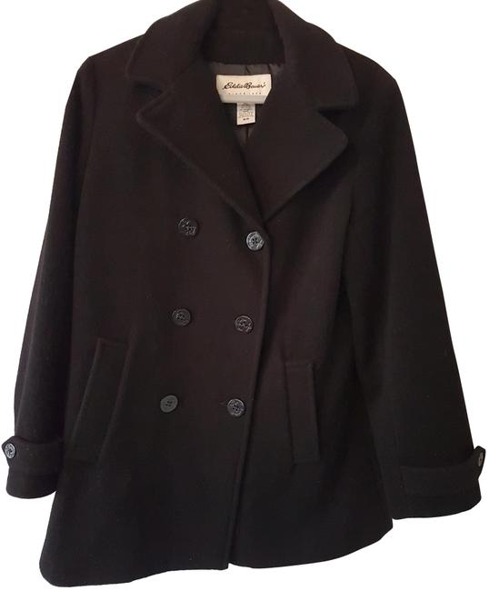 Preload https://item5.tradesy.com/images/eddie-bauer-black-pea-coat-size-10-m-23242194-0-1.jpg?width=400&height=650
