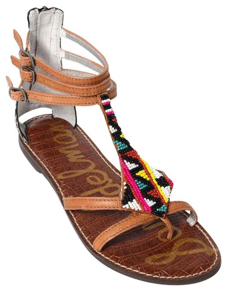 ee4c20a005992 Sam Edelman New Beaded Giselle Multicolor Sandals Size US 9.5 ...