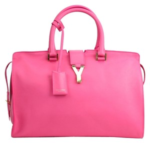 Saint Laurent Luxury Satchel in Pink