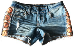 Dollhouse Denim Shorts-Light Wash