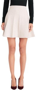 Club Monaco Mini Sweater Mini Skirt cream