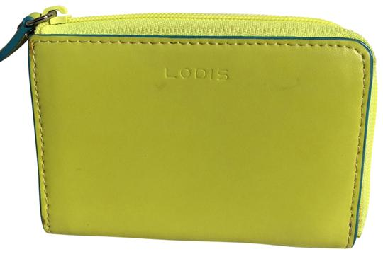 Preload https://item4.tradesy.com/images/lodis-neon-yellow-and-aqua-blue-summer-card-case-wallet-23242298-0-1.jpg?width=440&height=440