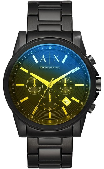 Preload https://item5.tradesy.com/images/ax-armani-exchange-black-stainless-steel-chronograph-ax2513-watch-23242314-0-1.jpg?width=440&height=440