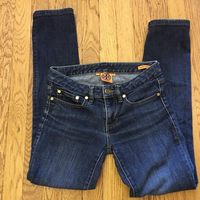 Tory Burch Skinny Jeans-Distressed