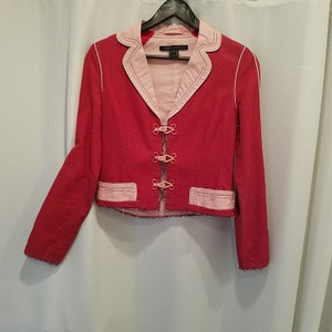 Marc Jacobs Pink and red cool piece!! So fun for work or just wear it with pair of jean❤ Blazer
