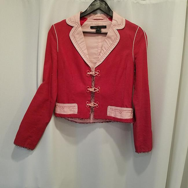 Preload https://item2.tradesy.com/images/marc-jacobs-pink-and-red-cool-piece-so-fun-for-work-or-just-wear-it-with-pair-of-jean-rn103927-blaze-23242321-0-0.jpg?width=400&height=650