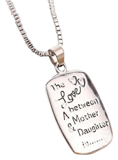 Preload https://item5.tradesy.com/images/jewelry-unlimited-love-between-a-mother-and-daughter-silver-sale-necklace-23242354-0-1.jpg?width=440&height=440
