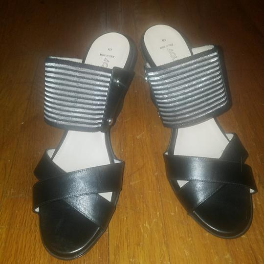 Aquatalia Black Wedges