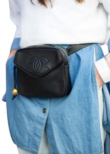 Chanel Fanny Pack Vintage Waist Bum Cross Body Bag
