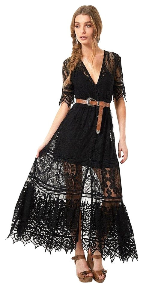 Spell & the Gypsy Collective Black Rhiannon Gown Long Night Out ...