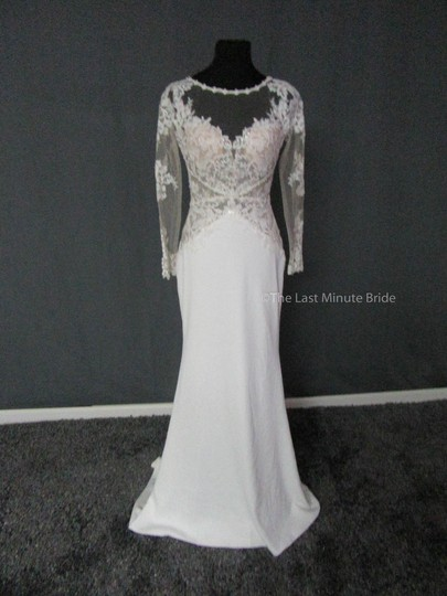 Preload https://item3.tradesy.com/images/maggie-sottero-ivory-lace-blanche-7ms375-feminine-wedding-dress-size-4-s-23242467-0-0.jpg?width=440&height=440