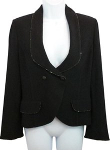 St. John Jacket Black Blazer