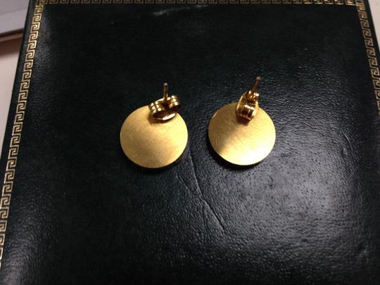 unknown Gold tone Mother of Pearl Earrings