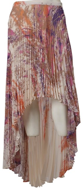 Preload https://img-static.tradesy.com/item/23242701/catherine-malandrino-multicolor-khaki-marble-pleated-marion-midi-skirt-size-2-xs-26-0-1-650-650.jpg