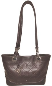Brighton Refurbished Leather Matching Wallet Lined Tote in Brown