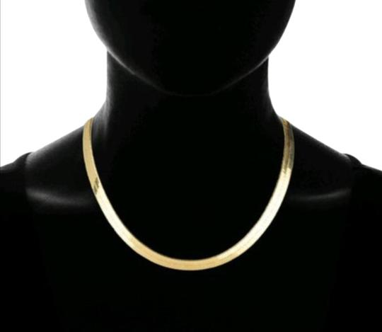 Preload https://img-static.tradesy.com/item/23242738/-14k-yellow-gold-filled-herringbone-bone-chain-necklace-0-1-540-540.jpg