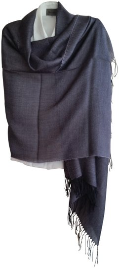Preload https://item5.tradesy.com/images/tumi-small-black-gray-and-purple-tweed-baby-alpaca-silk-shawl-scarfwrap-23242764-0-1.jpg?width=440&height=440