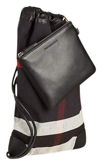 Preload https://img-static.tradesy.com/item/23242811/burberry-check-with-pebble-little-duffle-black-jutecanvasleather-trim-backpack-0-1-540-540.jpg