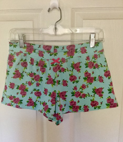 Betsey Johnson Pajama Shorts Set Sz M