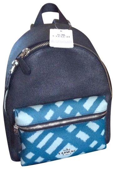 Preload https://img-static.tradesy.com/item/23242884/coach-blue-multi-dark-teal-leather-backpack-0-1-540-540.jpg