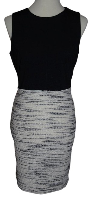 Preload https://item3.tradesy.com/images/barneys-new-york-blackwhitegray-combo-tweed-look-sheath-short-workoffice-dress-size-10-m-23242887-0-2.jpg?width=400&height=650