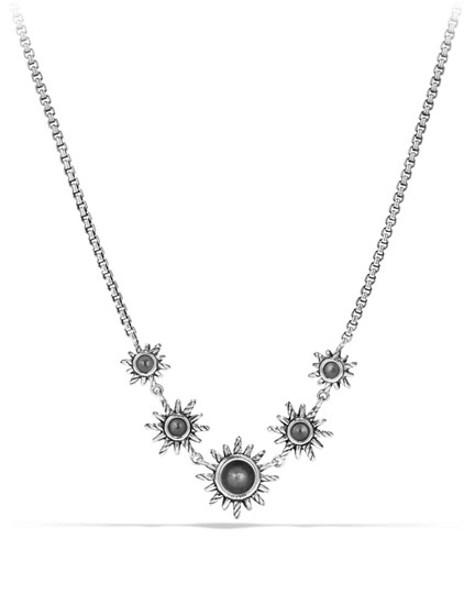 David Yurman Starburst Five-Station Necklace with Pearls