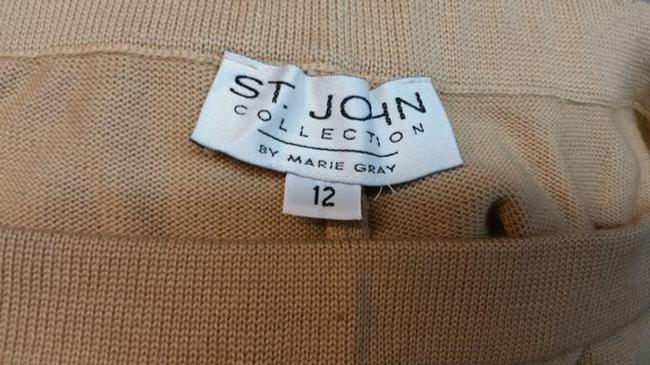 St. John Straight Pants Lion Brown