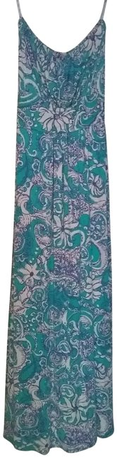 Preload https://img-static.tradesy.com/item/23242940/lilly-pulitzer-blue-and-white-resort-2012-long-casual-maxi-dress-size-4-s-0-1-650-650.jpg