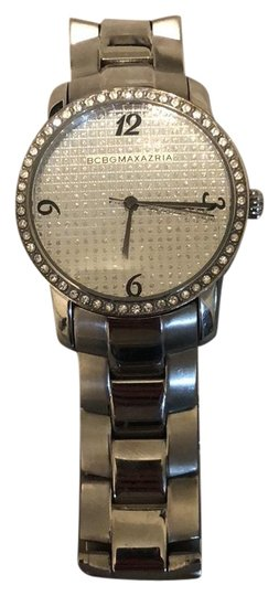 Preload https://item2.tradesy.com/images/bcbgmaxazria-silver-bang-watch-23242941-0-1.jpg?width=440&height=440