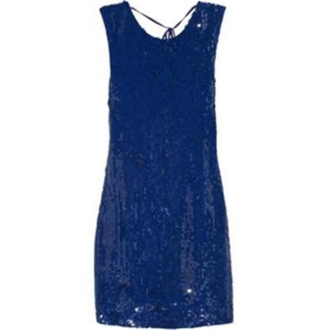Alice + Olivia Open Back Sequin Cocktail Vista Dress