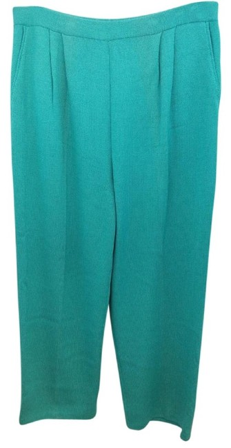 Preload https://item3.tradesy.com/images/st-john-collection-turquoise-elastic-waist-knit-straight-leg-pants-size-14-l-34-23242957-0-0.jpg?width=400&height=650