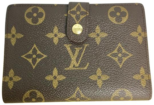 Preload https://item5.tradesy.com/images/louis-vuitton-brown-monogram-portefeuille-viennois-bifold-wallet-23242979-0-3.jpg?width=440&height=440