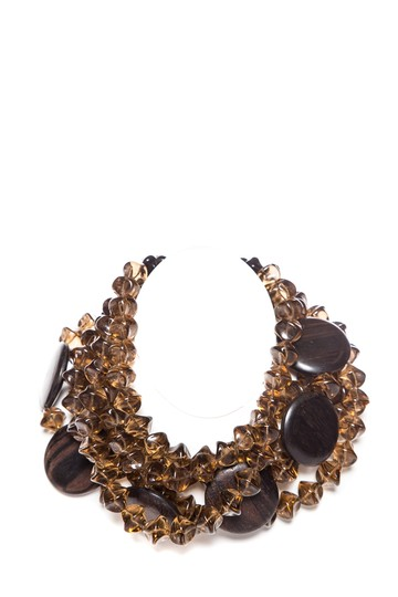 Preload https://img-static.tradesy.com/item/23242998/saint-laurent-brown-yves-wood-and-bead-statement-necklace-0-0-540-540.jpg
