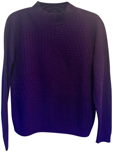 Preload https://item2.tradesy.com/images/alfred-dunner-purple-classic-mock-sweaterpullover-size-petite-4-s-23243011-0-1.jpg?width=400&height=650
