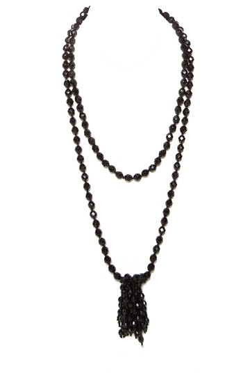 Preload https://item3.tradesy.com/images/saint-laurent-black-yves-necklace-23243012-0-0.jpg?width=440&height=440